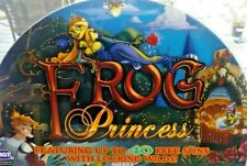 Frog Princess Slot Machine Casino Topper Insert, Glass in Great Shape