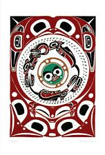 Nature Danny Dennis Art Card Tsimshian Northwest Coast Native