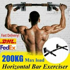 Gym Wall Mounted Pull Up Exercise Bar Heavy Duty Ceiling Chin Up Bar Fitness HOT