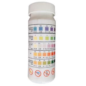 50 Strips/Bottle Chlorine Dip Test Strips Tub Swimming Pool PH Tester Paper #E18