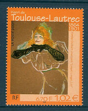 TIMBRE 3421 NEUF XX LUXE - OEUVRE DE HENRI DE TOULOUSE LAUTREC