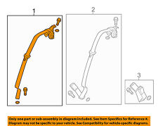 HONDA OEM 2012 Civic Rear Seat Belt-Outer Assy Left 04828TR0A00ZC
