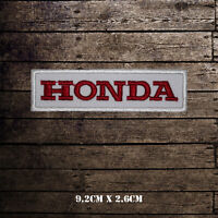 Honda Car Band Embroidered Iron On Sew On Patch Badge For Clothes etc