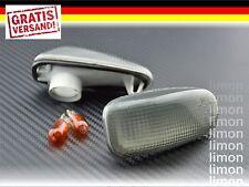SEITENBLINKER SET in GRAU für MERCEDES E-Klasse W210 CLK Cabrio SLK Blinker S139