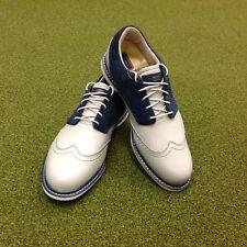 NEW Ashworth Encinitas Tour Golf Shoes - UK Size 8.5 - US 9 - EU 42 2/3