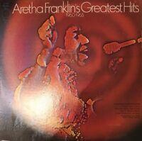 Aretha Franklins Greatest Hits LP Vinyl Record Original Soul Funk 1960-1965