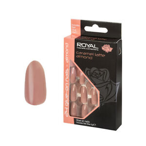 Royal False Nails With Glue set of 24 Choose Your Style