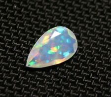 Faceted Welo Opal 1.28ct Confetti Pear Natural Crystal Ethiopian Opal Video 11x7