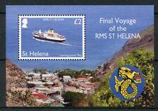 St Helena 2018 MNH RMS St Helena Final Voyage 1v M/S Boats Ships Stamps
