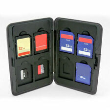 Hard 8 Micro SD SDHC Memory Card Storage Carrying Case Protector Holder Z9J2