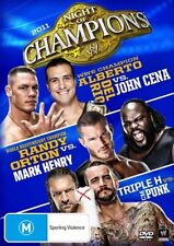 WWE - Night Of Champions 2011 (DVD, 2011) - Region 4