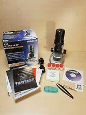 USB Mikroskop Traveler PC OVP Bildbearbeitung + Software 10x 60x 200x