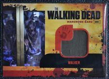 Cryptozoic Walking Dead Season 1 M15 Zombie Walker Wardrobe Prop Trading Card