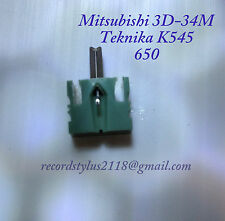 MITSUBISHI 3D34M+K545+650+Sansui+SN34+Sharp STY750+Diamond Tip+Swiss Made