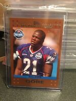 2007 TOPPS FRANK GORE ALL PRO PARALLEL CARD SP# San Francisco 49ers Colts NFL