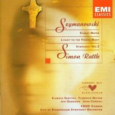 Szymanowski Symphony No. 3/Stabat Mater Simon Rattle Abstract Szmytka, florenc