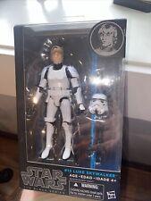 """Star Wars Black Series 6"""" #12 Luke Skywalker Stormtrooper Disguise Blue Line"""