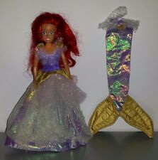 1991 Tyco The Little Mermaid Barbie Royal Princess Ariel Doll and Outfit