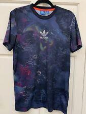 Adidas Original Trefoil Logo T Shirt Multicolour Size XS Space Galaxy Top