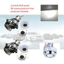 1.8 Inch 12V Car H1 Bi Xenon Projector Metal Lens Braket Hi/Lo Beam Headlight
