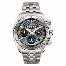 Citizen Men's AV3006-50H The Signature Collection Eco-Drive Moon Phase Flyb
