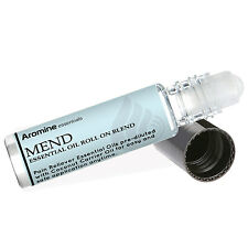 Mend Pain Relief Essential Oil Roll On, Pre-Diluted 10ml by Aromine Essentials