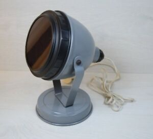 Vintage Collectible Metal Photography Red Light Projector Darkroom Developing