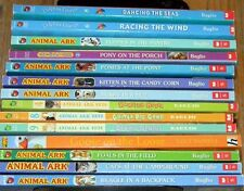LOT of 14 ~ ANIMAL ARK & DOLPHIN DIARIES ~ CHILDREN Chapter BOOKS ~ Ben Baglio