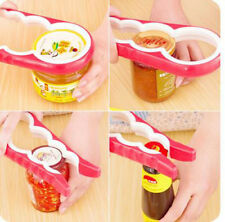 Rubber Handle Easy Grip Multi Size Container Bottle Jar Lid Can Opener Kitchen G