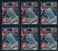 2018 Topps Series 1 Rafael Devers #18 RC 12 Base Card Lot Rookie Boston Red Sox