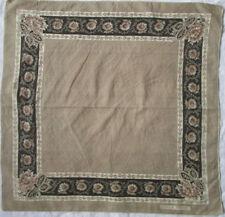 -Superbe Foulard SONIA RYKIEL  coton  TBEG vintage scarf 70 x 70 cm