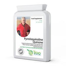 PQQ Pyrroloquinoline Quinone 20mg 60 Capsules - Supports Brain & Heart Function