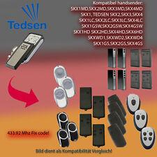 Handsender 433,92 MHz für TEDSEN SKX1MD, SKX1LC, SKX1HD, SKX1GSW Antriebe