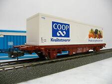 Märklin H0 4673 Containertragwagen Lgis Coop SJ OVP Q1866