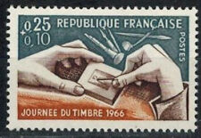 1966 - Timbre france neuf **/-Journée du Timbre - Stamp - Yt. N°1477