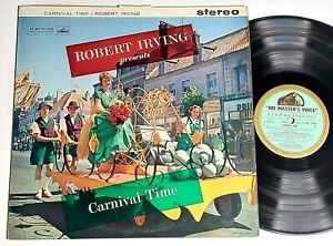 CSD1280 - green/gold - ROBERT IRVING CARNIVAL TIME - UK LP Stereo