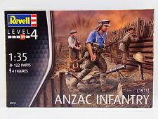 LOT 32709 | Revell 02618 Anzac Infantry 1915 Figuren 1:72 Bausatz NEU in OVP