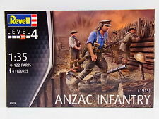 Lot 32709 Revell 02618 Anzac Infanterie 1915 Figurines 1:72 Kit Neuf Dans Ovp