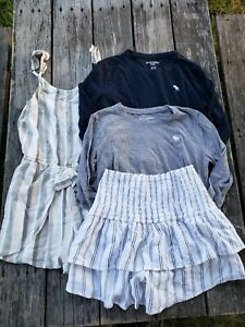 Abercrombie Kids ~ Girls Neutral Color Small Lot ~ Size 13-14