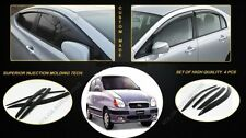 ★AutoLovers Door Window Visor/Rain Guard For Hyundai Santro OLD Set Of 4Pcs★