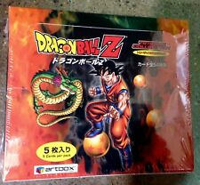 Dragon Ball Z Trading Card Sealed Box 24 packs 5 Cards/Pack  2003 Artbox