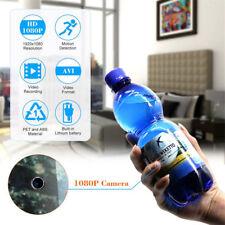 HD 1080P Hidden Spy Camera Surveillance Bottle DVR Camcorder Motion Detection