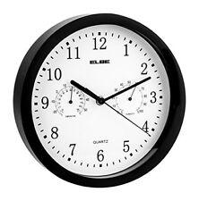 Reloj pared Elbe Rp-1005-n Termómetro