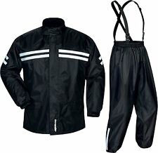 Tourmaster Shield Two-Piece Waterproof Motorcycle Riding Rain Suit Black Small