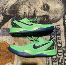 Nike Zoom Kobe 8 VIII System Elite Superhero Green Blue Black Sz 4.5y 555586-301