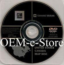 2003 2004 2005 2006 Cadillac Escalade GMC Yukon Envoy Sierra Navigation DVD Map
