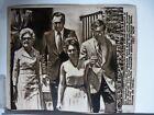 Vintage AP Wire Press Photo 1973 Watergate Nixon Wife & Family Visit Nixon Hosp