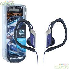 Panasonic In-Ear Clip type Sports Gym confort résistant à l'eau casque - Bleu