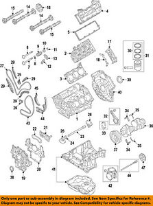 AUDI OEM 10-15 Q7-Valve Cover Gasket 059103483T