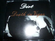 Death In Vegas Dirt Australian 5 Track CD Single